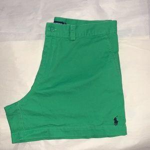 Ralph Lauren High Waisted Chino Shorts -10